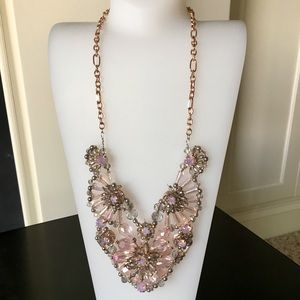 ERICA LYONS Pink and Rose Gold Statement Piece